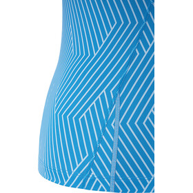 GORE WEAR R3 Optiline Sleeveless Shirt Women print dynamic cyan/marine blue
